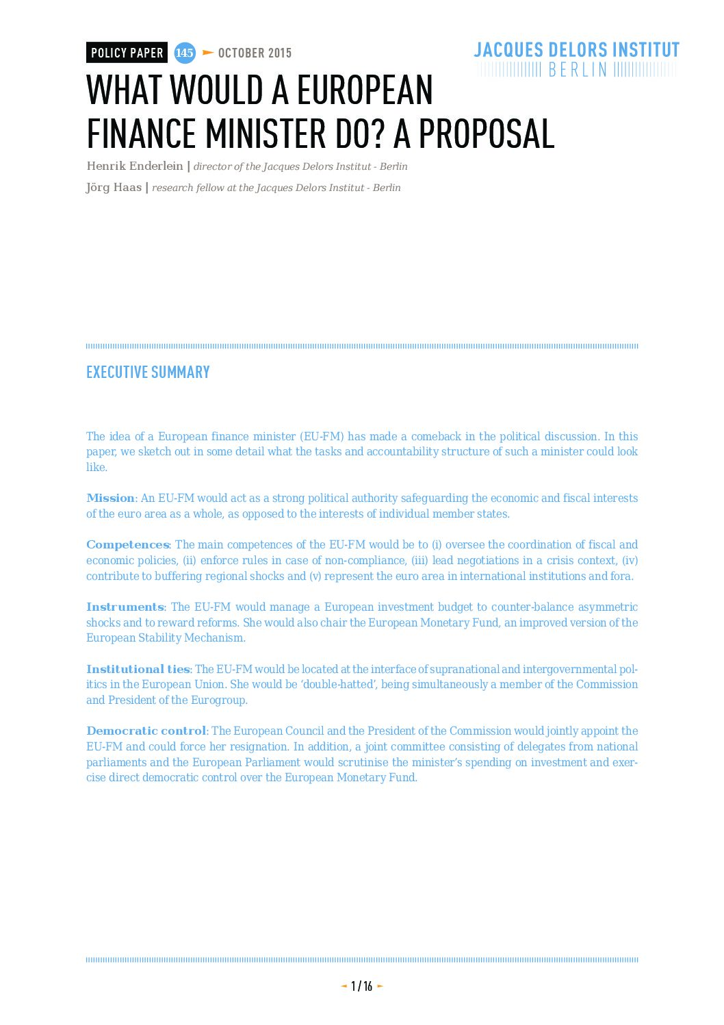 fiscal control mechanism