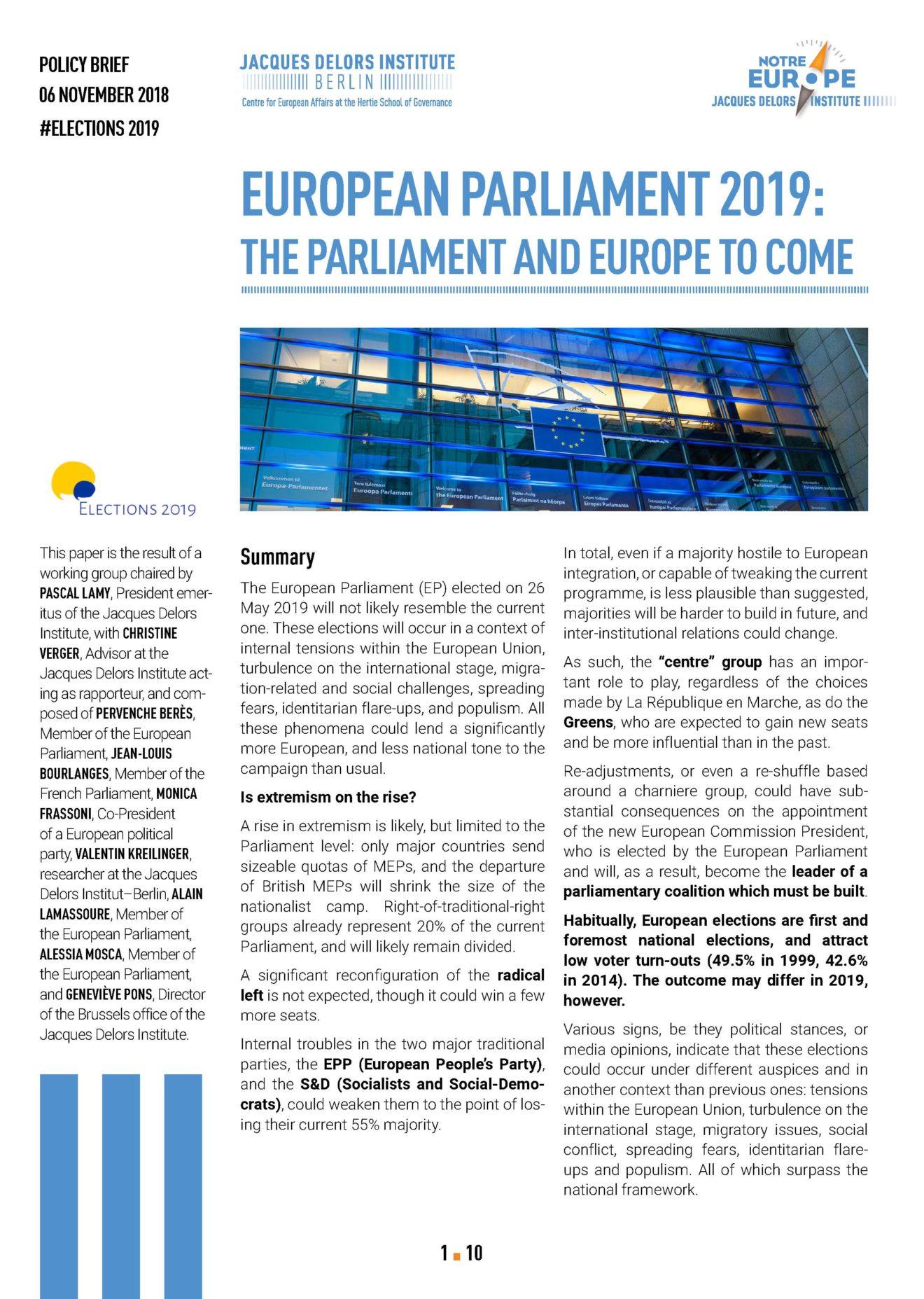 Pages de EuropeanParliament2019-WorkinggroupEuropeanelections-Nov18